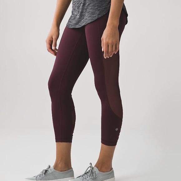 ea5d3c74a1 lululemon athletica Pants | Lululemon Seek The Heat 78 Leggings ...